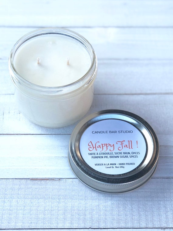 Happy Fall Soy Candle