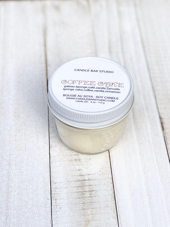 COFFEE CAKE Soy Candle 4oz