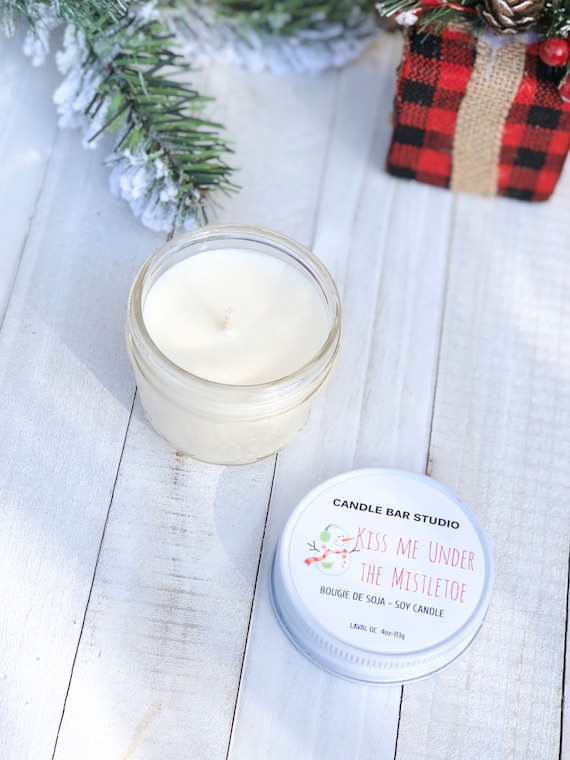 Kiss Me Under the Mistletoe Soy Candle