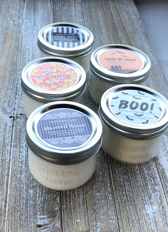 PICK A SCENT! HALLOWEEN Soy Candles