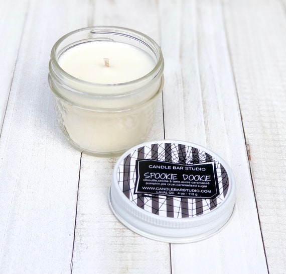 SPOOKIE DOOKIE Soy Candle, Natural Candles, Candles, candle, Home Decor, Gift for her, fall soy candles, fall candles, halloween candles