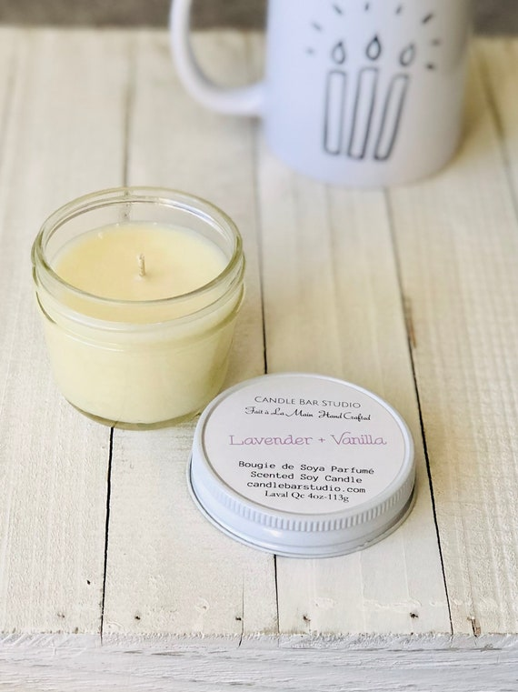 Lavender Vanilla Soy Candle (small)