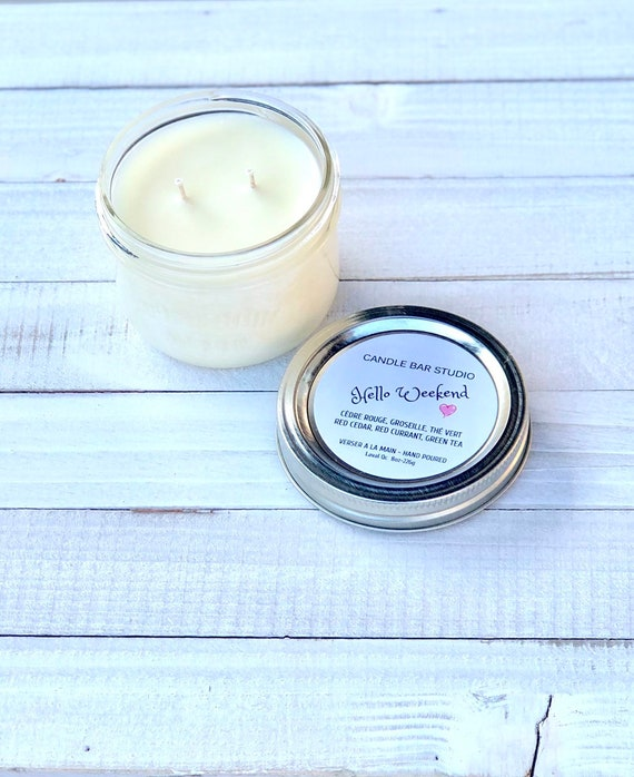 Hello Weekend Soy Candle