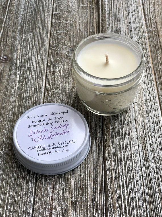 Wild Lavender Soy Candle (small)