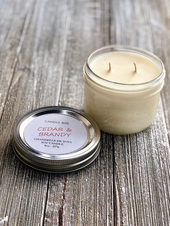 CEDAR AND BRANDY Soy Candle