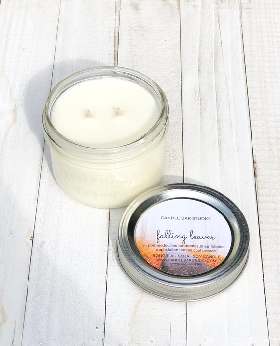 Falling Leaves Soy Candle 8oz