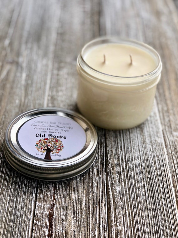 Old Books Soy Candle (medium)