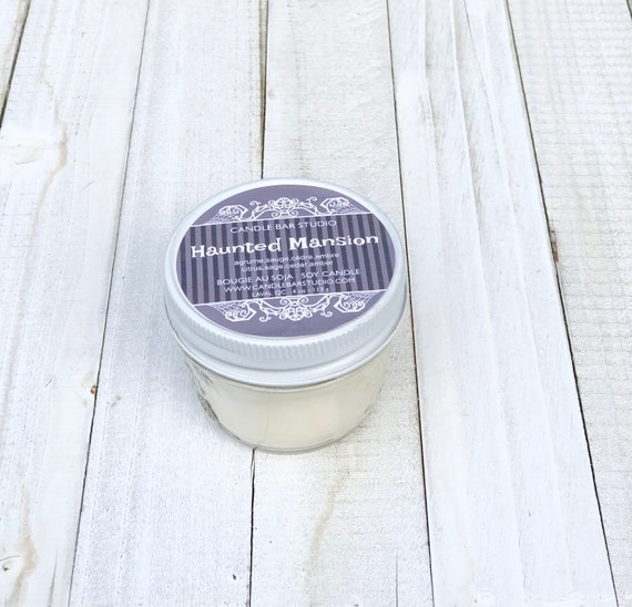 Haunted Mansion Soy Candle, Natural Candles, Candles, candle, Home Decor, Gift for her, fall soy candles, fall candles, halloween candles