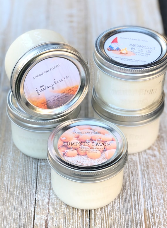 PICK A SCENT! Fall Soy Candles
