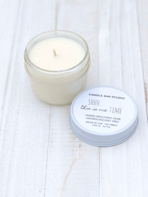 Shhh It's Me Time Soy Candle