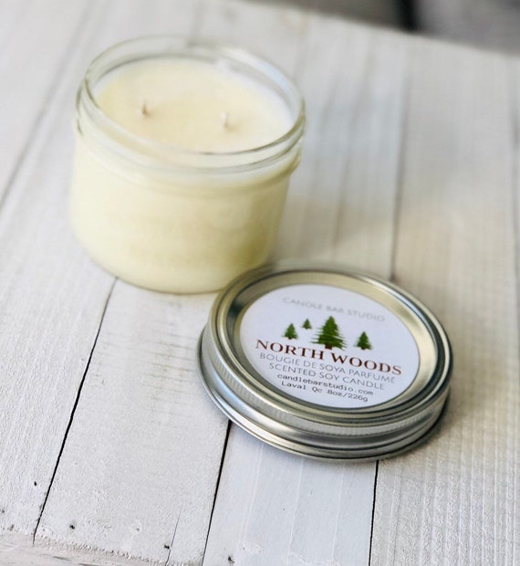 North Woods Soy Candle (medium)