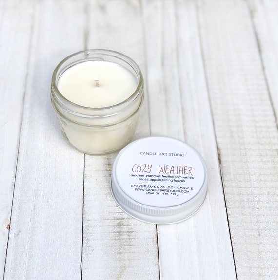 Cozy Weather Soy Candle, Natural Candles, Candles, candle, Home Decor, Gift for her, fall soy candles, fall candles, halloween candles