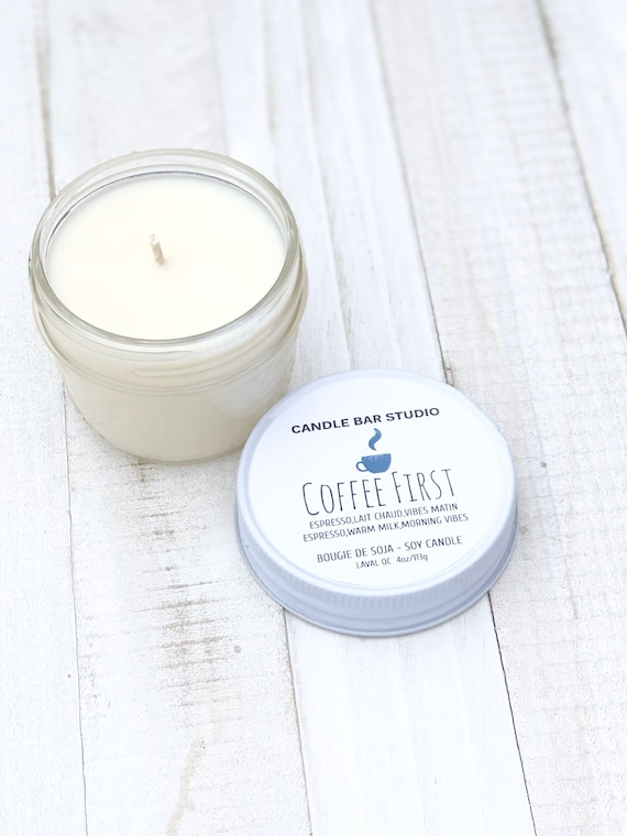 Coffee First Soy Candle