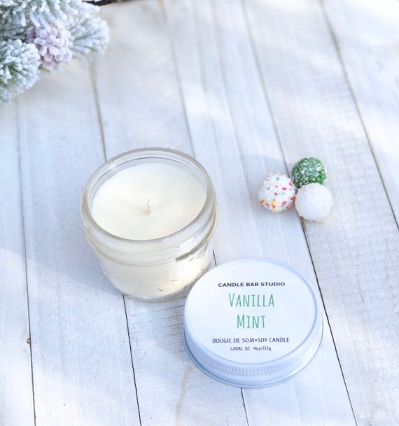 Vanilla Mint Soy Candle