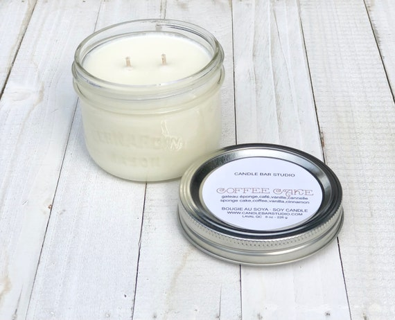 COFFEE CAKE Soy Candle 8oz