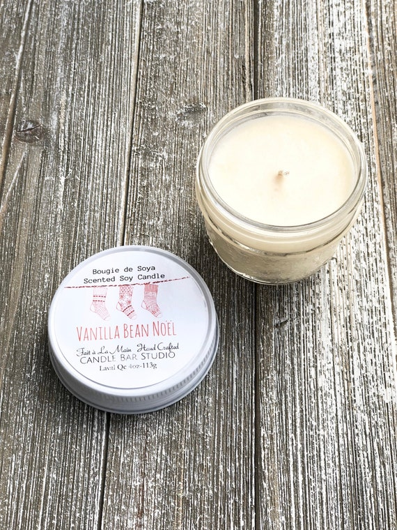 Vanilla Bean Noel Soy Candle