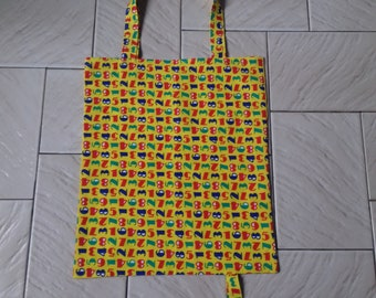 Tote bag, tote bag for folding shopping bag