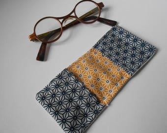 father's day glasses graphic cloth wipe