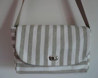 Reversible purse / / shoulder bag / / Messenger bag / / shoulder bag / / cotton
