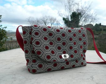 Retro shoulder bag / / vintage bag / / Messenger bag / / shoulder bag
