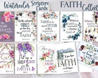 Scripture Cards - FAITH Collection