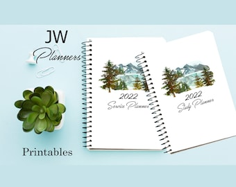 JW Printable Forest Planners