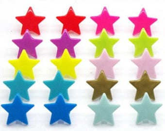 Kam snap / star / set of 5, size 20