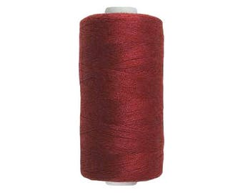 Spool sewing thread / BORDEAUX red / 250 m