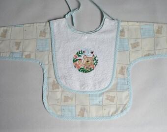 Baby apron bib