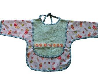 Mouse baby apron bib
