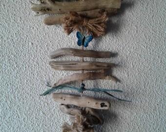 Driftwood and Papillon blue Garland