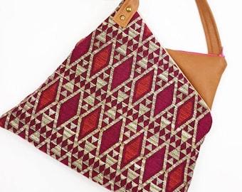 Mirror Pink Boho Bag