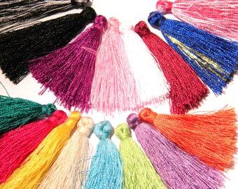 10 tassel fringe - charm - cotton-37 by 43 mm - cotton thread tassels - G59