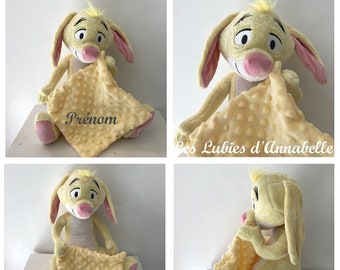"Doudou Disney ""Coco Rabbit"" friend of Winnie The Pooh toy 1st age PERSONNALISABLE"