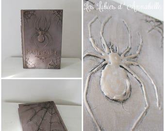 Halloween Decoration, magic black book Grimoire book of witchcraft and wizardry.