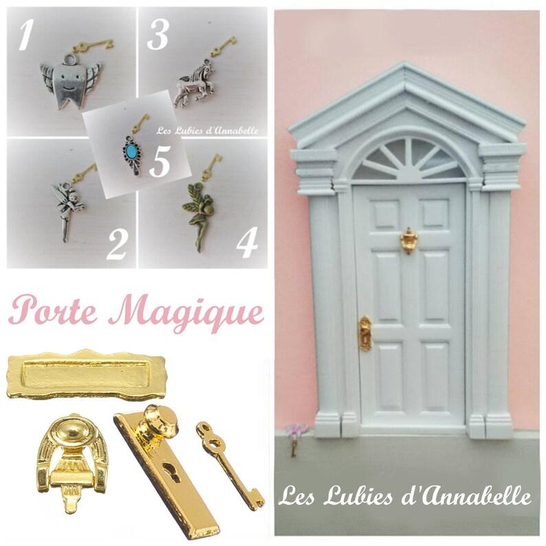 Fairy Magic Door or Lutin Tooth Fairy or Little Milk Tooth image 1