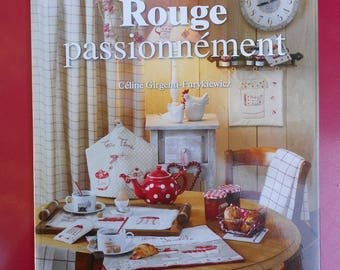 "Book ""Red"" passionately by editions de Saxe"