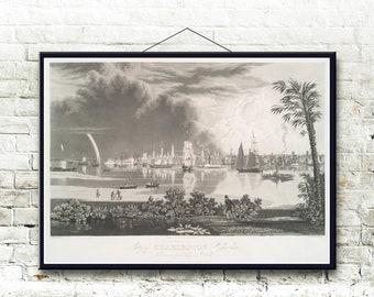 Charleston South Carolina 1838 Fine Art Print