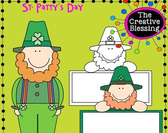 St. Patricks Day  Hand Drawn Clip Art