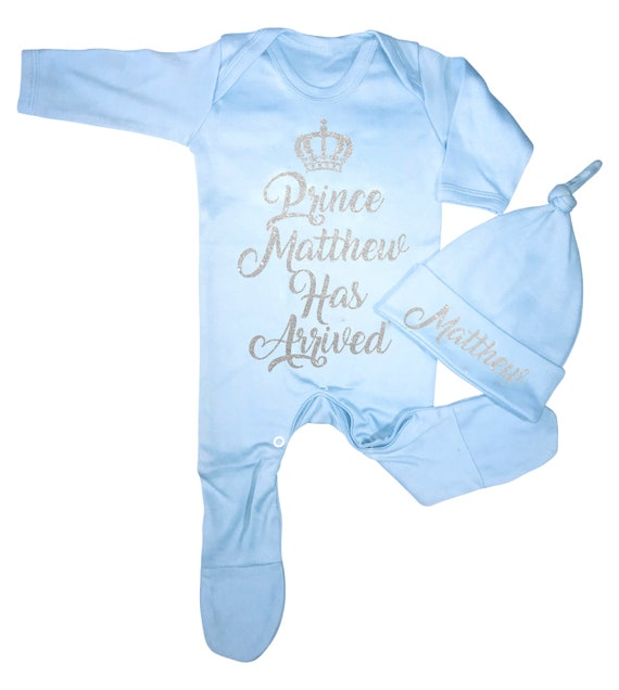 Personalised Letter /& Name Baby Romper Babygrow Hospital Outfit New Baby Gifts