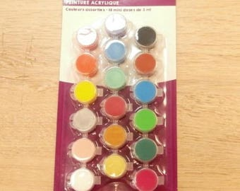acrylic painting 18 doses dose 3 ml