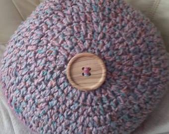 Beautiful Handmade Round Cushion