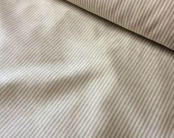 STRIPPED 100 % natural LINEN fabric, 200g/150 cm width fabric by the metre, bedding linen, bedspread, sewing, linen top fabric by the yard