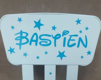 Custom name high chair
