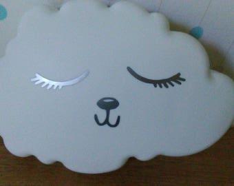Custom applique cloud