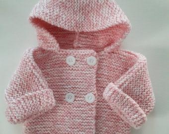 Fluffy coats 0/3 months