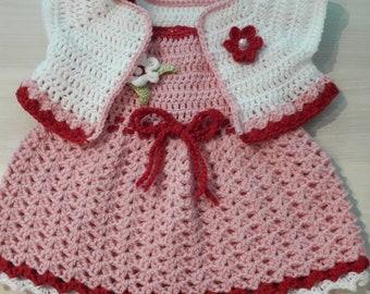 dress and bolero bb 0/3 months