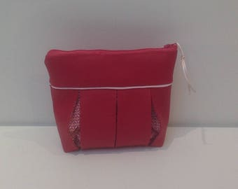 Bag, clutch bag faux leather