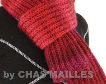 scarf woman or junior red shades