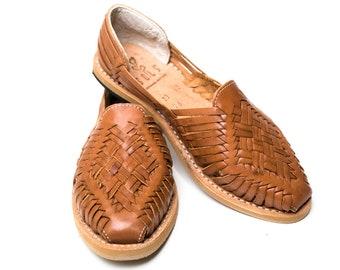 Ana , Handmade Mexican Women\u0027s Huaraches 100% Genuine Leather